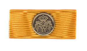 Baton Trouwe Dienst medaille Brons