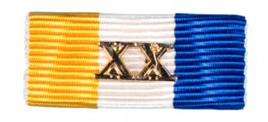 Baton Officiers Dienstkruis XX