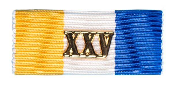 Baton Officiers Dienstkruis XXV