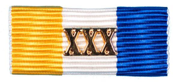 Baton Officiers Dienstkruis XXX