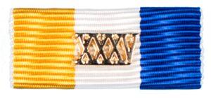 Baton Officiers Dienstkruis XXXV