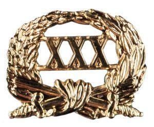 Jaarkrans Officiers Dienstkruis XXX
