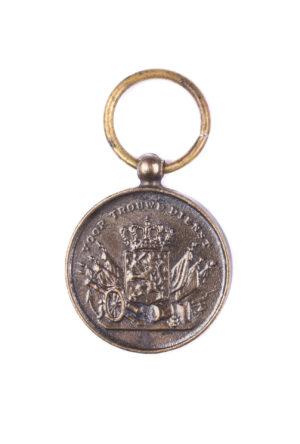 Miniatuur Trouwe Dienst medaille brons KL KLU