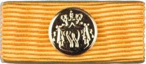 Trouwe Dienst Medaille verguld zilver