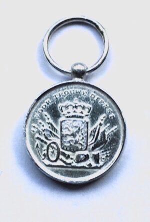 Miniatuur Trouwe Dienst medaille zilver KL KLU